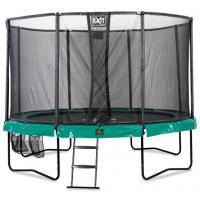 Ronde trampoline met veiligheidsnet 457 cm