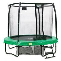 Ronde trampoline met veiligheidsnet 244 cm