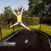 Ovale trampolines