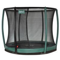 Ronde ingraaf trampoline met net 244cm