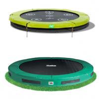 Inbouw trampolines zonder net 183 cm