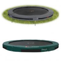 Inbouw trampolines zonder net 244 cm