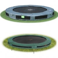Inbouw trampolines zonder net 305 cm