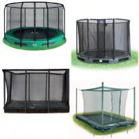 Alle inbouw trampoline met net