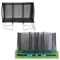Alle maten rechthoekige trampolines