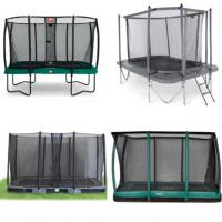 Alle rechthoekige trampolines met net