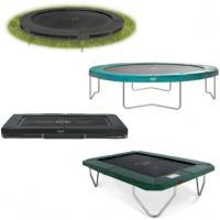 Alle trampolines zonder net