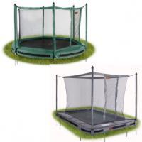 Pro-line inground trampoline met net