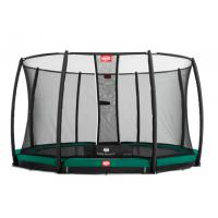 Ronde ingraaf trampoline met net 270cm