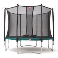 Ronde trampoline met veiligheidsnet 380 cm