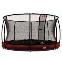 Ronde ingraaf trampoline met net 330cm