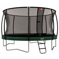 Professionele ronde trampoline met net