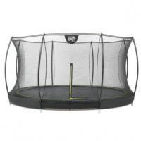 Exit Silhouette Inground trampoline met net