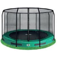 Ronde ingraaf trampoline met net 213cm