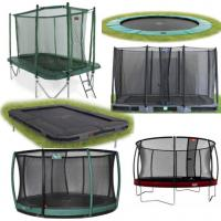grote trampolines vanaf 330 cm