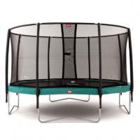 Opbouw trampoline met net 330 cm
