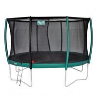 Opbouw trampolines met net 366 cm