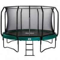 Opbouw trampoline met net 430 cm