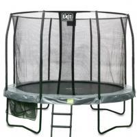 Opbouw trampolines met net 457 cm