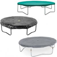 Ronde hoezen opbouw trampoline