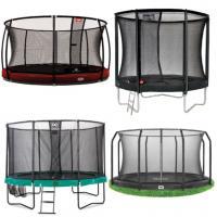 Alle ronde trampolines met net