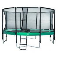 Ronde trampoline met net