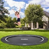 Groundlevel trampolines