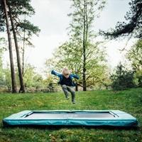 Inbouw trampolines