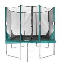 Middel rechthoekige opbouw trampolines tot 240 cm