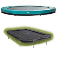 Inbouw trampoline