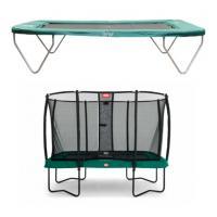 Rechthoek trampoline