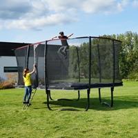 Rechthoekige trampolines