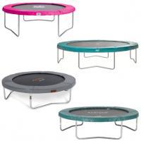 ronde opbouw trampolines zonder net