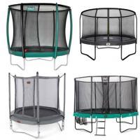 Alle ronde opbouw trampolines met net