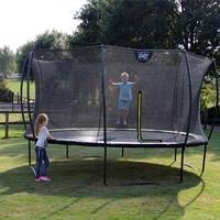 Ronde trampolines