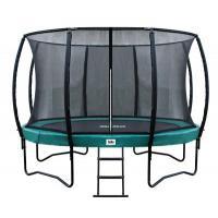 Ronde trampoline met veiligheidsnet 427 cm