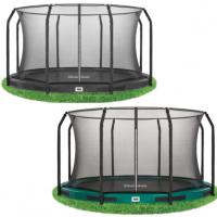 Salta Excellent inground trampoline met net