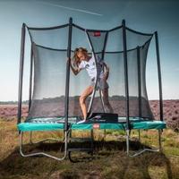 Opbouw trampolines