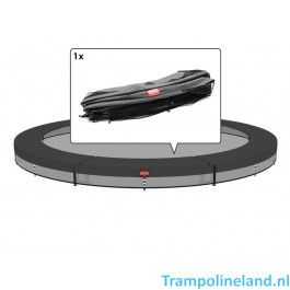 Berg Inground trampoline rand Favorit 330 cm Grijs