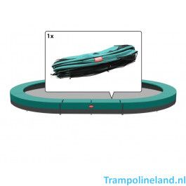 Berg Grand Champion Inground Trampoline rand 520 x 345 cm Groen