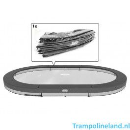 Berg Grand Elite Inground Trampoline rand 520 x 345 cm Grijs