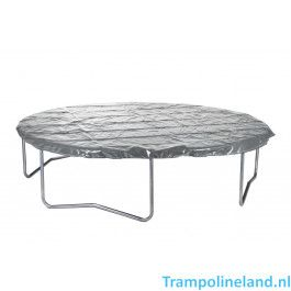 12SPRINGS Trampoline hoes Extra 305cm Antraciet