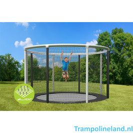 Akrobat Trampoline Gallus Flat to the Ground 430 cm