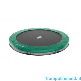 Akrobat Orbit inground trampoline 430cm Groen