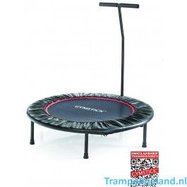 Gymstick fitness trampoline 102 cm met beugel en trainingsvideo