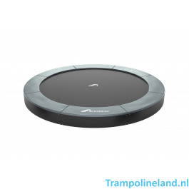 Akrobat Orbit flat to the ground trampoline 365cm Antraciet