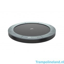 Akrobat Orbit flat to the ground trampoline 305cm Antraciet