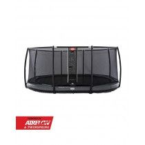 Berg Grand Elite Inground Trampoline 520x345 cm Deluxe Grijs