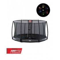 BERG Elite inground trampoline Levels 430cm Deluxe Grijs