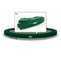 Berg Inground Elite trampoline rand 380 cm Groen